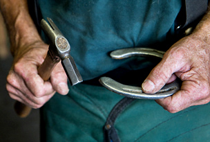 Bob Bartlett farrier