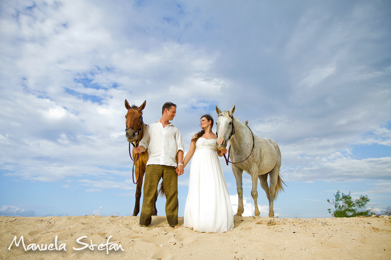 Trash the dress at Braco Stables Jamaica