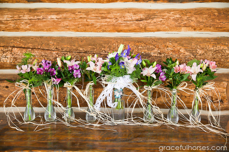 Ranch wedding details