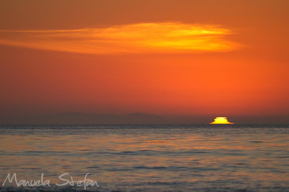Californian sunset photo