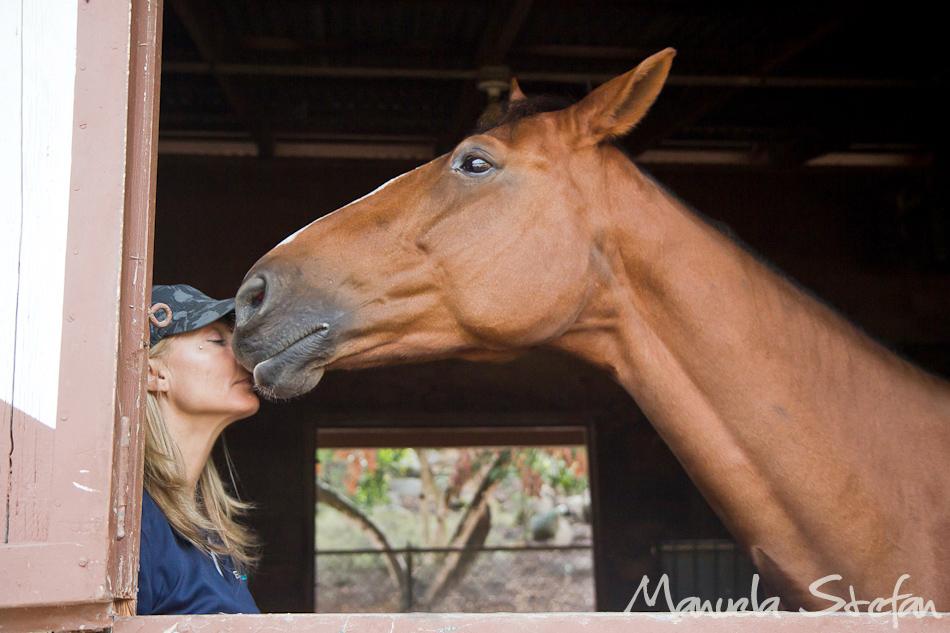 Jane Wesson and horse Zazou