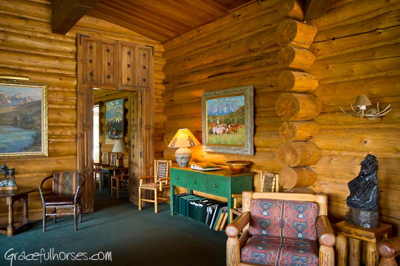 Gros Ventre River Ranch interior
