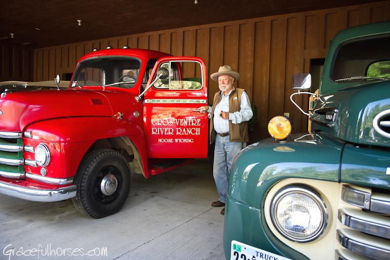 Karl Weber at Gros Ventre River Ranch