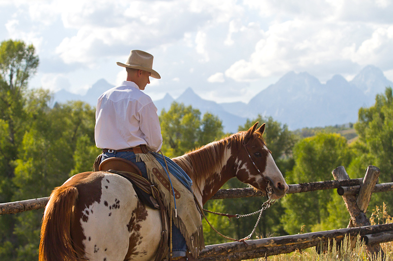 Shaun McGough at Gros Ventre River Ranch