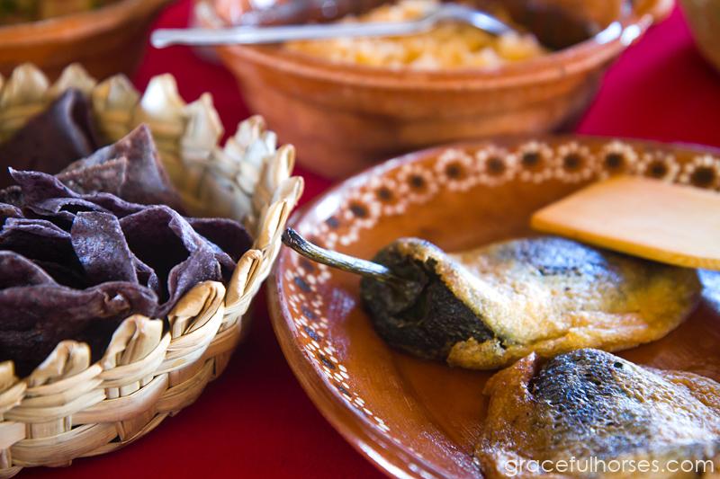 Rancho Xotolar Mexico home made food