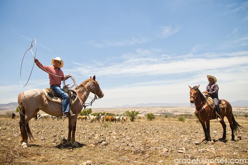 Rancho Xotolar vaqueros roping