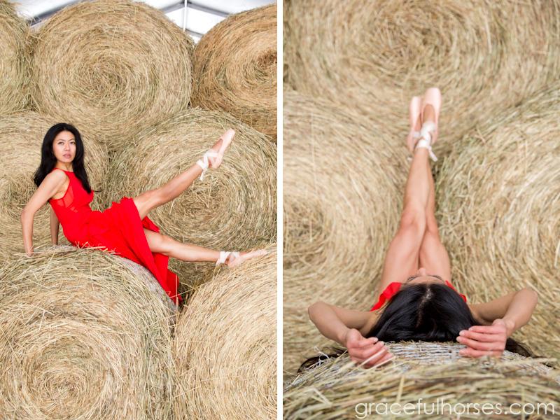Creative dance farm photos