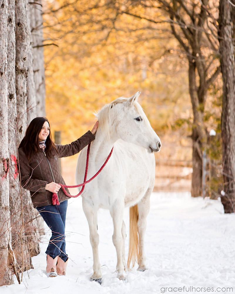 Mena Canonico and horse Mia