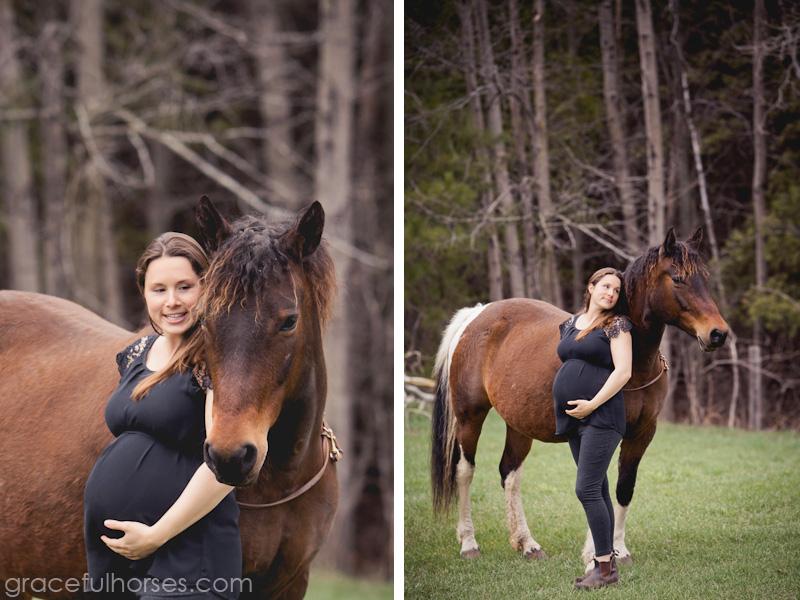 Jessica Fobert and horse Nekoda