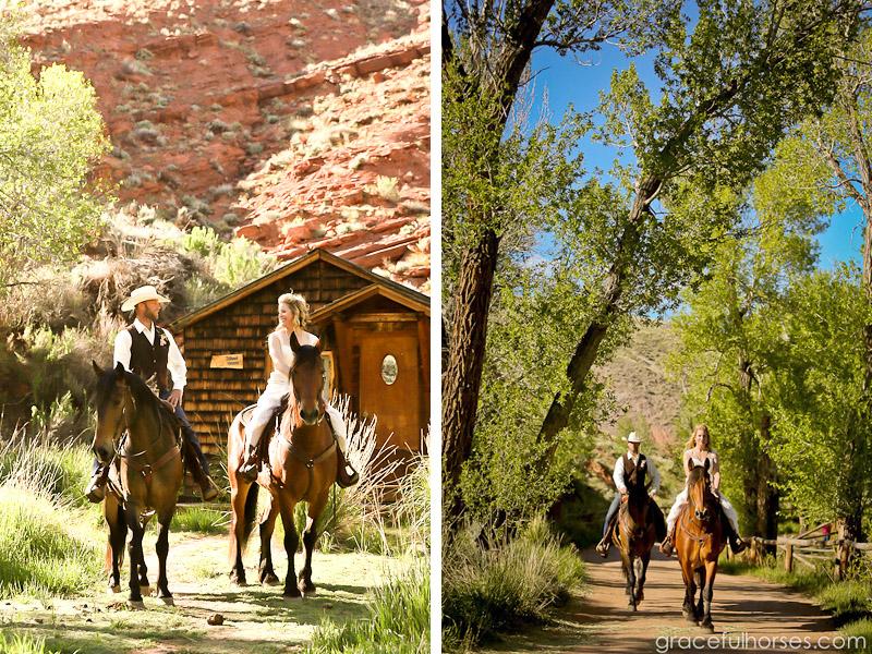 Ranch weddings by Graceful Horses