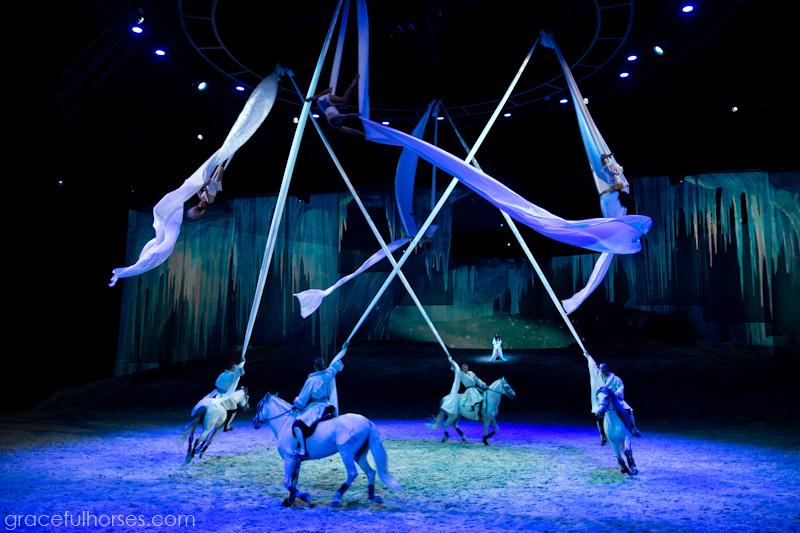 Cavalia Odysseo acrobatics