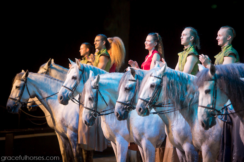 Cavalia Odysseo horses