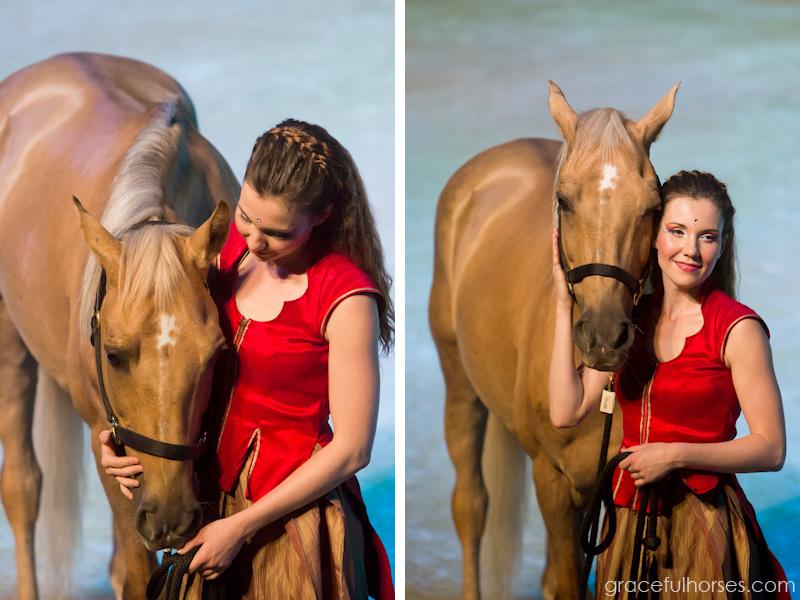 Cavalia rider and horse