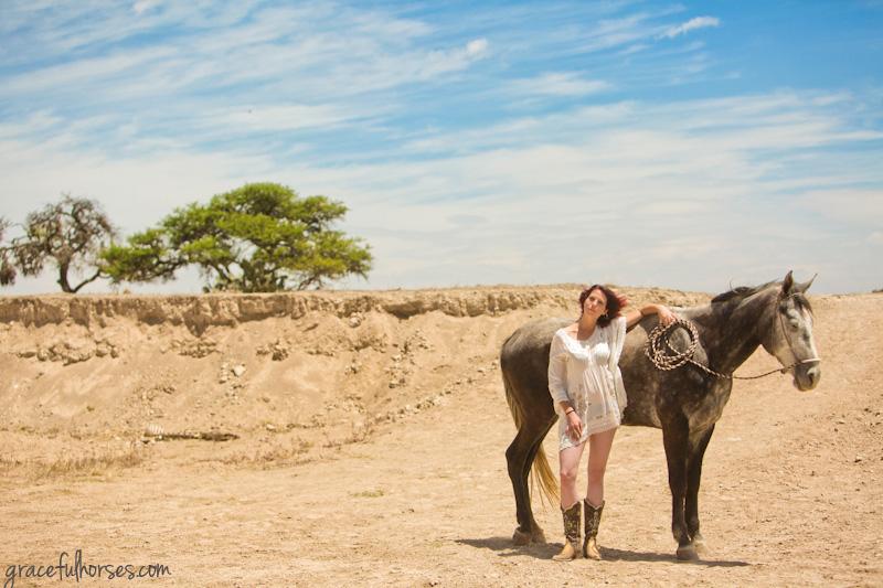 Rancho Las Cascadas horse photos