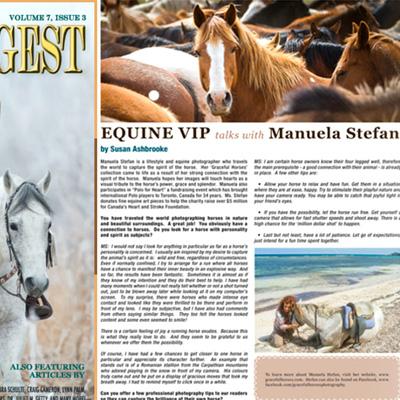 Horse Digest interview