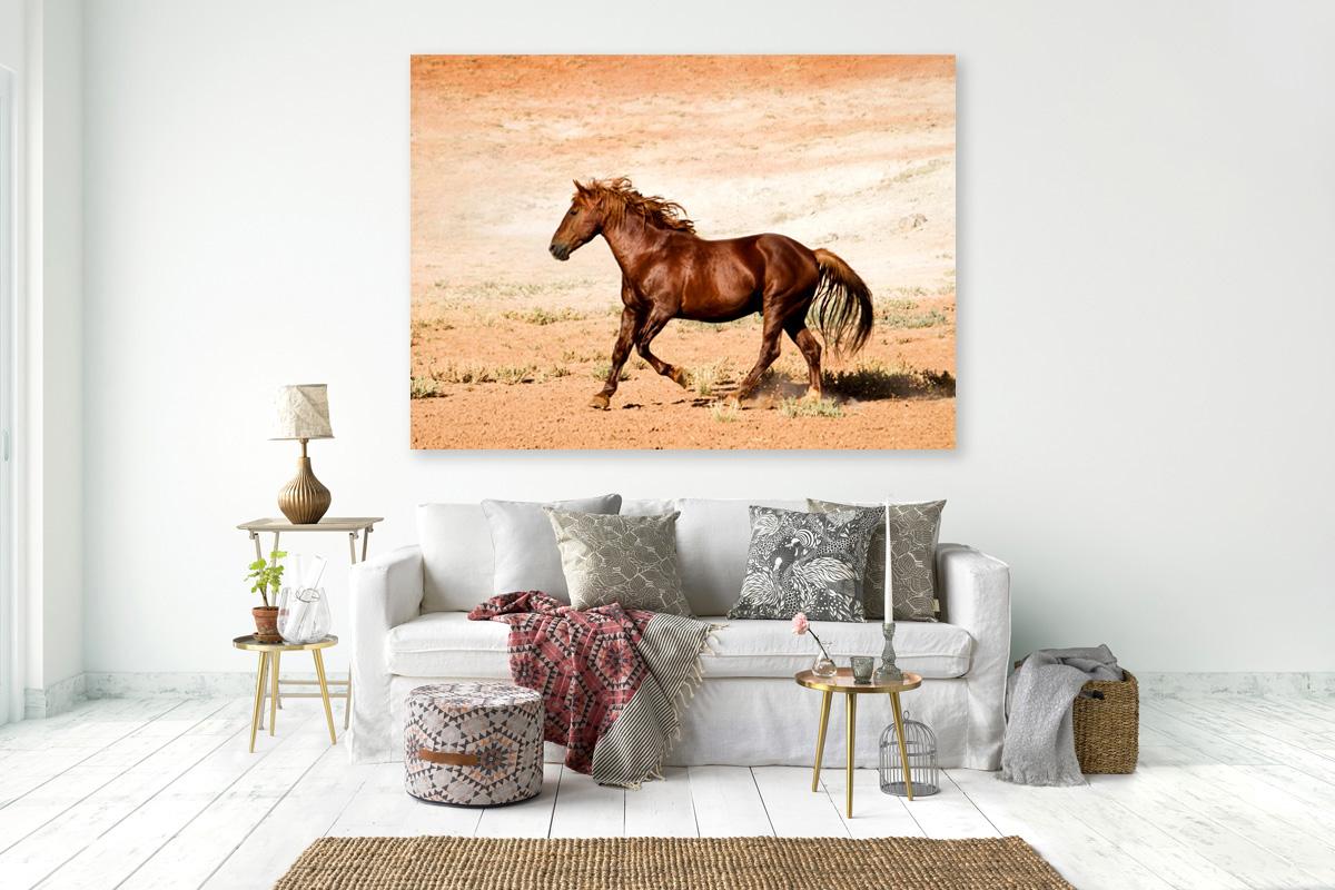 Mustang wall art